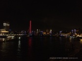 London, lit-up for Guy Fawkes. Gorgeous.