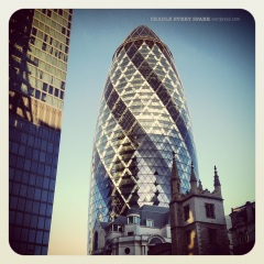 "The ""Gherkin"" as locals lovingly call it."